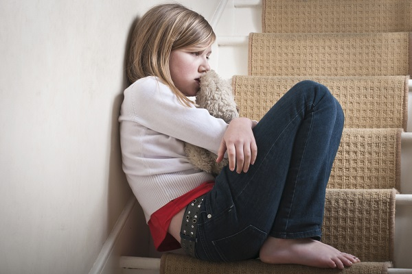 No child should spend every day living in fear. (fasphotographic/Shutterstock)