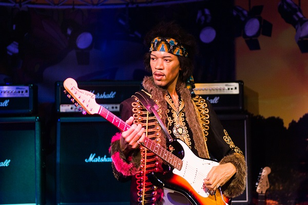 Jimi Hendrix is one of the most well-known members of the 27 Club. (Anton_Ivanov/Shutterstock)