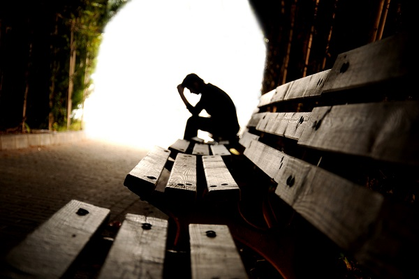 Those who feel they've hit bottom are often those who find within themselves the willingness to seek help. (hikrcn/Shutterstock)