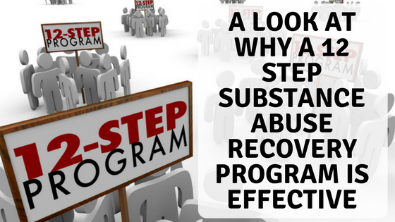 12 step substance abuse recovery program