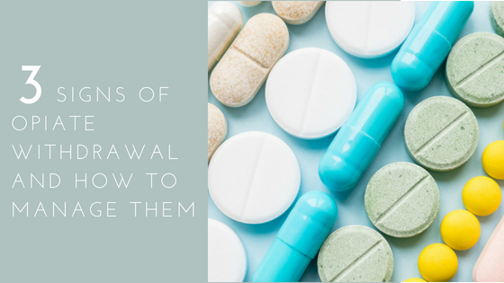 signs of opiate withdrawal